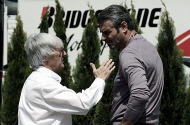 Maurizio Arrivabene é um velho conhecido de Bernie Ecclestone (foto: BBC)