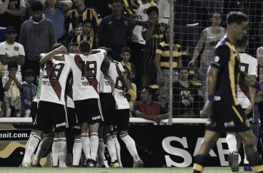 River y Central empataron 1-1 en el choque de la Superliga anterior (Foto: Olé).