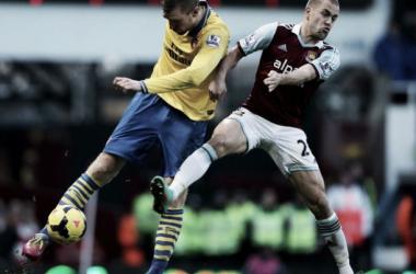 Resultado Arsenal - West Ham United en la Premier League