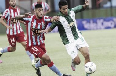 La última vez en Sarandí, el Taladro cayó 3 a 1 - Fuente: Los Andes