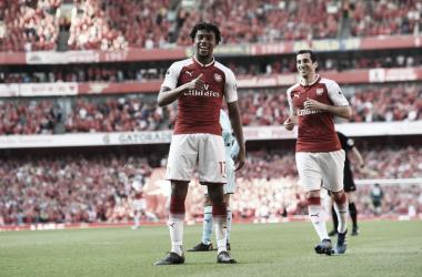 Arsenal empató a dos con el Crystal Palace   Vía: Arsenal F.C.