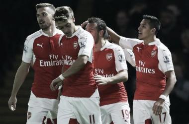 Watford 0-3 Arsenal: Player Ratings