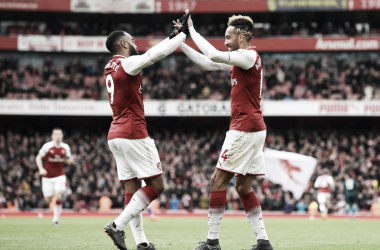 El Arsenal junta por primera vez a los cuatro magníficos