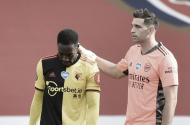 Não deu! Watford é derrotado pelo Arsenal e está rebaixado à Championship