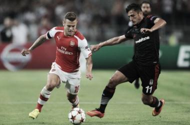 Mirando a fase de grupos da Champions League, Arsenal recebe Besiktas