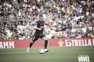 Imagen de Arthur, jugador del FC Barcelona. FOTO: Noelia Déniz
