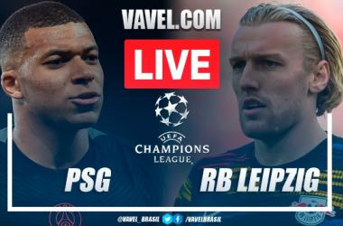 Gols e melhores momentos de PSG 3x2 RB Leipzig pela Champions League