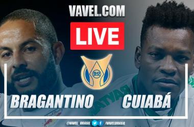Gols e melhores momentos de Bragantino x Cuiabá (1-1)