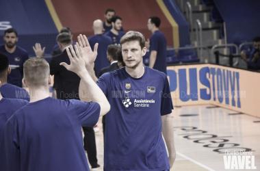 """Pustovyi: """"Disfruté mucho el partido"""""""