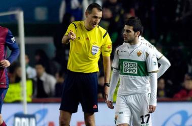 Clos Gómez arbitrará el Atlético - Elche