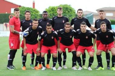 El 11 inicial del Girona en su primer partido de pretemporada