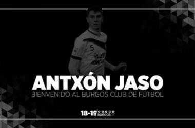 Antxón Jaso, primer refuerzo del Burgos CF (Foto: Burgos CF)
