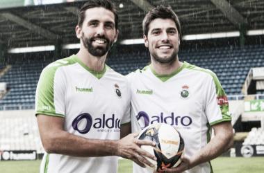 El Racing presenta a Jordi Figueras y Jon Ander | Foto: Racing de Santander