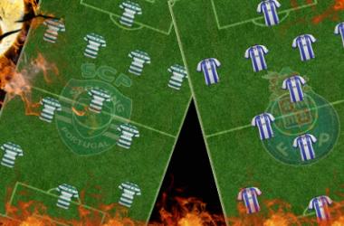 FC Porto x Sporting: O duelo do 4-3-3 - virtudes e falhas dos sistemas