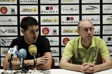 """Dani Montes: """"Cuanto antes consigamos la permanencia, mucho mejor"""" (Foto: Santiago Futsal)"""