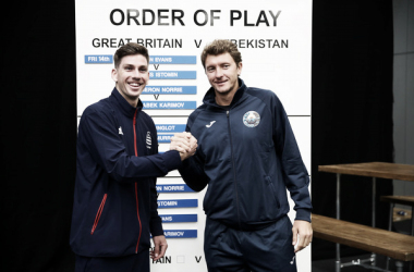This will be the first meeting between Great Britain and Uzbekistan in the Davis Cup (Image source: Clive Brunskill/Getty Images Europe)
