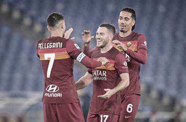 Roma vence Torino em casa e permanece na zona de classificação da Serie A