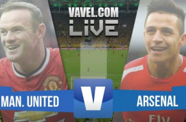 Resultado Manchester United x Arsenal pela Premier League 2015 (1x1)