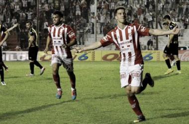 Jonatan Bauman, autor de uno de los goles en el último triunfo de Instituto, será de la partida este viernes. (Foto: Ascenso del Interior).