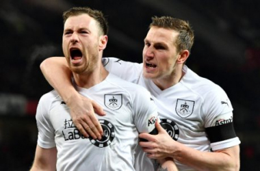 Burnley strikers Ashley Barnes and Chris Wood (planetfootball.com)
