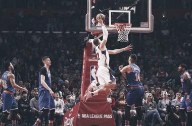 Em grande jogo de Blake Griffin, o ala-pivô anotou 30 pontos e liderou a vitória dos Clippers (Foto: Divulgação/NBA)