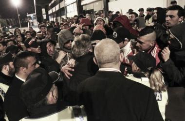 Adeptos irritados após derrota de Vila do Conde