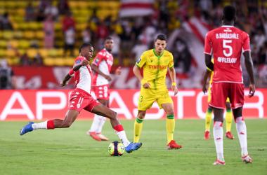 Jean Lucas in azione. | Foto: Twitter @Ligue1UberEats.