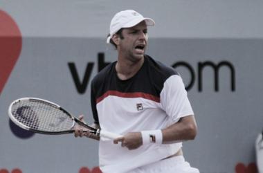 Horacio Zeballos debuto con un triunfo en el Us Open. Foto: LaNacion
