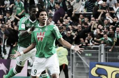Les verts ont retrouvé des couleurs le week-end dernier face à Lorient. (envertetcontretous.fr)
