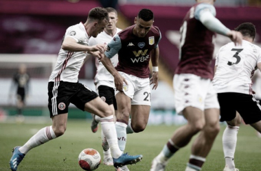 Aston Villa e Sheffield United empatam em jogo marcado por falha da tecnologia no retorno da Premier League