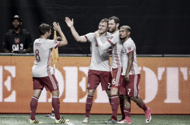 43,000 plus spectators were treated to another great performance by Atlanta United | Source: atlutd.com