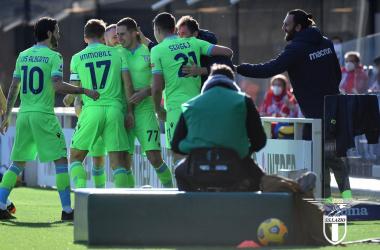 Serie A - Vendetta Lazio: vittoria e sorpasso sull'Atalanta (1-3)