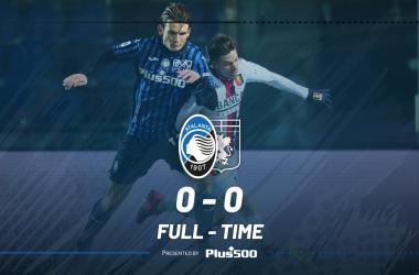 Serie A- L'Atalanta sbatte sul Genoa, pareggio a reti bianche a Bergamo (0-0)