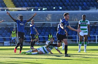L'Atalanta schianta il Sassuolo: 4-1 al Gewiss Stadium