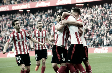 El Athletic vuelve a ganar en Liga a costa de un correoso Málaga