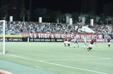 Camisa 9 comemorou duas vezes após converter penalidades máximas (Foto: Divulgação/Atlético-GO)