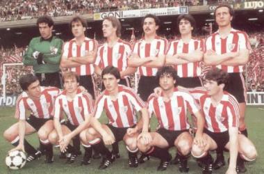 Athletic, en la élite de Europa: 1984-1985