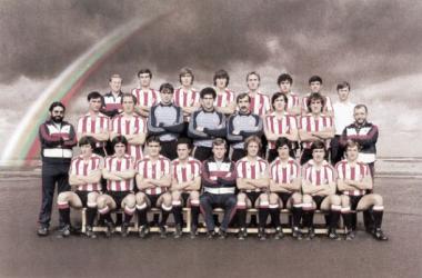 Foto de equipo 1983-1984. | Foto: Athletic.