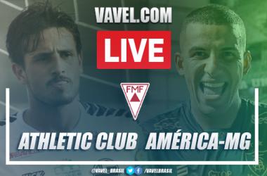 Gol e melhores momentos de Athletic Club 0 x 1 América-MG pelo Campeonato Mineiro 2021