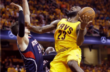 LeBron James' Triple-Double Wills The Cavaliers To A 114-111 Overtime Victory To Go Up 3-0 Over Atlanta