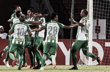 Nacional es primero de su grupo con 9 puntos. Foto de Conmebol