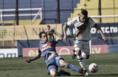 Imagen del encuentro entre Atlanta y Tigre en el Don León Kolbowski./ (Foto: Prensa Atlanta).