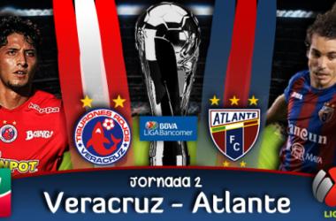 Resultado Veracruz - Atlante en Liga MX 2014 (2-1)