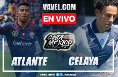 Goles y resumen del Atlante 1-1 Celaya en Liga de Expansión MX