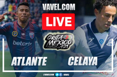 Goals and Highlights Atlante 1-1 Celaya in Liga Expansion MX