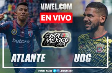 Goles y resumen del Atlante 2-0 Leones Negros en Liga de Expansión MX