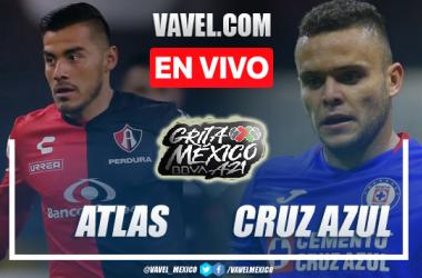 Resumen del Atlas 0-0 Cruz Azul de la jornada 14, Liga MX