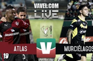 Resultado Atlas - Murciélagos FC en Copa MX 2015 (2-0)