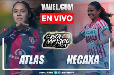 Gol y resumen del Atlas Femenil 1-0 Necaxa Femenil en Liga MX Femenil 2021