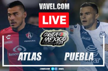 Goal and Highlights: Atlas 0-1 Puebla in Liga MX 2021